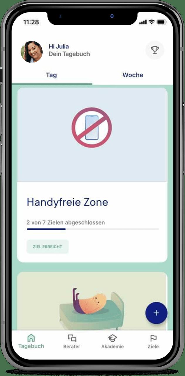 zanadio Gewohnheiten ändern: Hadyfreie Zone